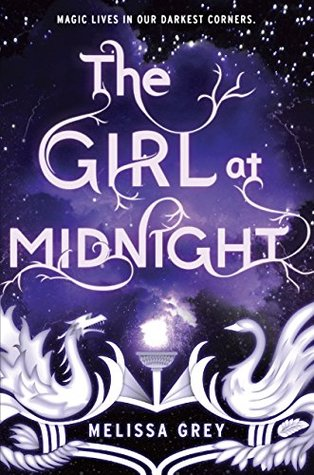 book cover: The Girl at Midnight