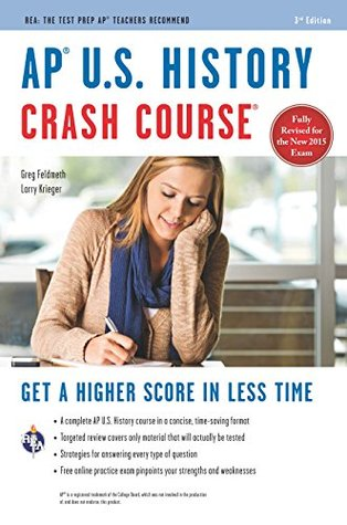 AP® U.S. History Crash Course Book + Online (Advanced Placement