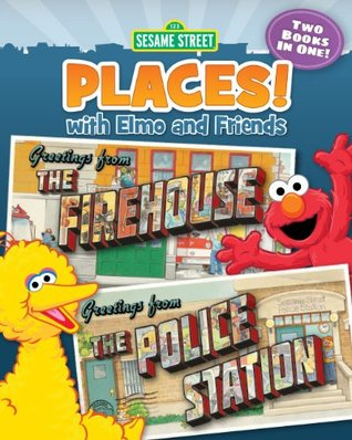 Sesame Street Places! The Firehouse and The Police Station