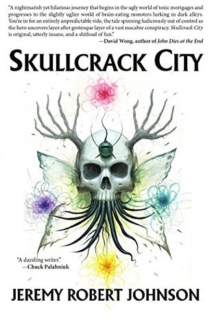 book cover for Skullcrack City