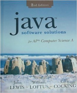 Java Software Solutions for AP Computer Science by John   Lewis