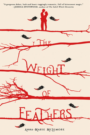 The Weight of Feathers by Anna-Marie McLemore thumbnail