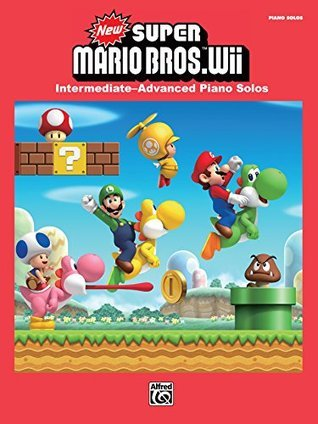 New Super Mario Bros.TM Wii: Intermediate--Advanced Piano Solos (Piano)
