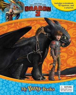 DreamWorks How to Train Your Dragon 2 My Busy Book