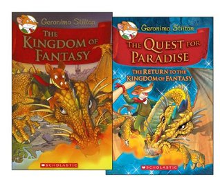 Geronimo Stilton Kingdom of Fantasy and Quest for Paradise Collection