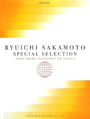 Ryuichi Sakamoto Special Collection: Piano Solo Sheet Music Score Book 29songs