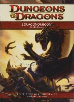 Draconomicon 2: Metallic Dragons: A 4th Edition D&D Supplement