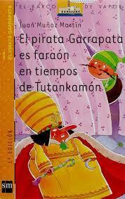 El Pirata Garrapata es faraón en tiempos de Tutankamon