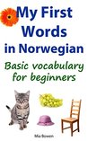 My First Words in Norwegian: Basic vocabulary for beginners (Learn Norwegian Book 1)
