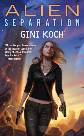 Alien Separation(Katherine Kitty Katt 11) - Gini Koch