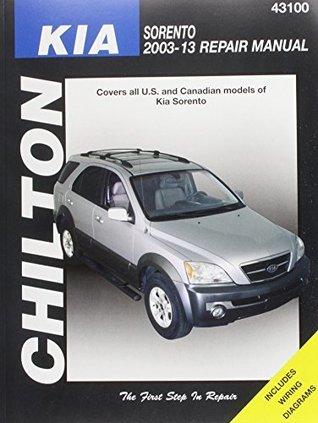 Chilton Total Car Care Kia Sorrento 2003-2013 Repair Manual