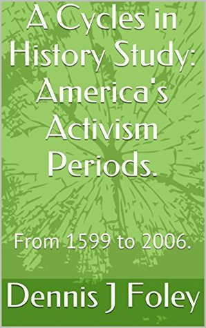 A Cycles in History Study: America's Activism Periods.: From 1599 to 2006.