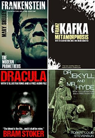 Frankenstein, Dracula, Dr. Jekyll & Mr. Hyde, and Metamorphosis Bumper Pack