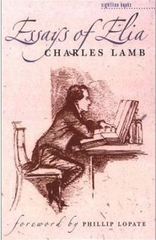Essays Of Elia By Charles Lamb Essays Of Elia