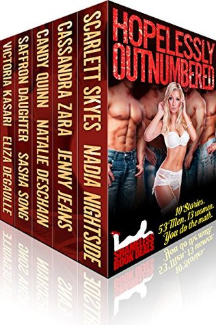 Hopelessly Outnumbered: 10 Stories. 57 Men. 12 Women. You Do The Math