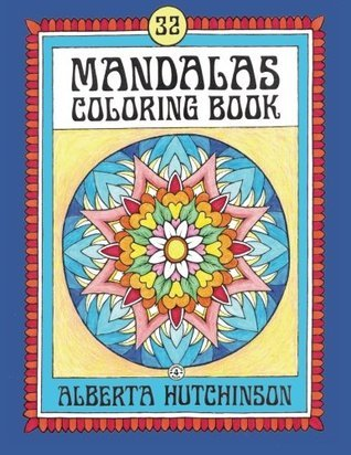 Mandalas Coloring Book No. 4: 32 New Unframed Round Mandalas