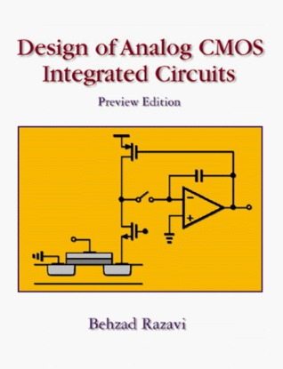 design of analog cmos integrated circuits by behzad razavi