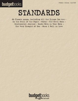 Standards Songbook: Budget Books (Budgetbooks)