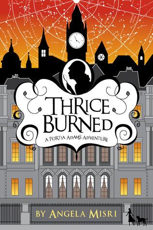 Thrice Burned (Portia Adams Adventures, #2)