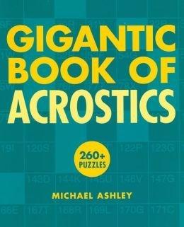 Gigantic Book of Acrostics - first printing