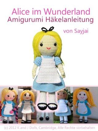 Alice im Wunderland Amigurumi Häkelanleitung