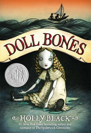 Doll Bones cover (link to Goodreads)
