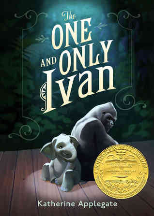 The One and Only Ivan cover (link to Goodreads)