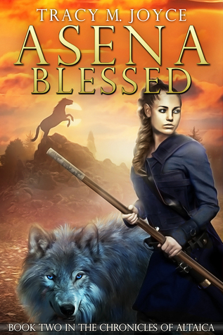 Asena Blessed  (The Chronicles of Altaica, #2)