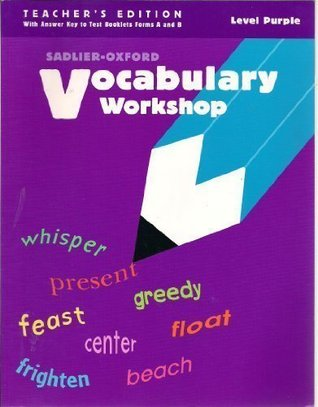 Vocabulary Workshop, Level Purple, Teacher's Edition