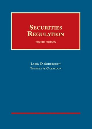 Securities Regulation, 8th (University Casebook Series) (English and English Edition)