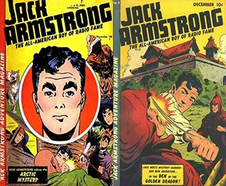 Jack Armstrong. Issues 1 and 2. The all American boy of Radio Fame. Features Artic Mystery and the Den of the Golden Dragon. Golden Age Digital Comics Action and Adventure.