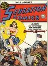 Sensation Comics #1 by William Moulton Marston