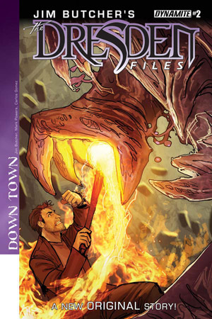 Jim Butcher's Dresden Files: Down Town #2