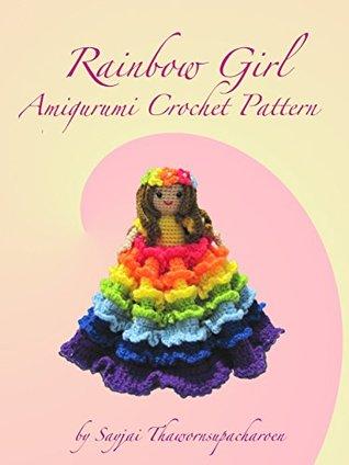 Rainbow Girl Amigurumi Crochet Pattern