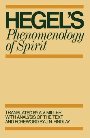 Phenomenology of spirit by georg wilhelm friedrich hegel phenomenology of spirit fandeluxe Gallery