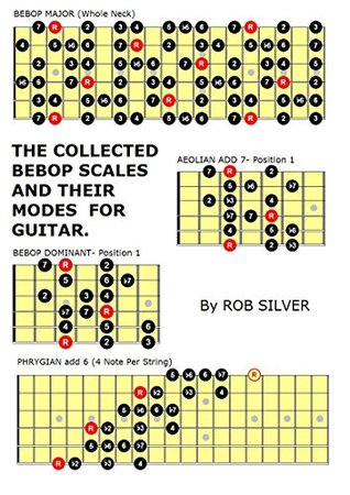 THE COLLECTED BEBOP SCALES AND THEIR MODES FOR GUITAR.: Collected Bebop Scales and Eight Tone Spanish.