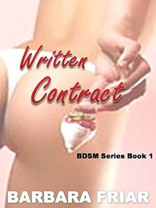Written Contract (BDSM Series Book 1)