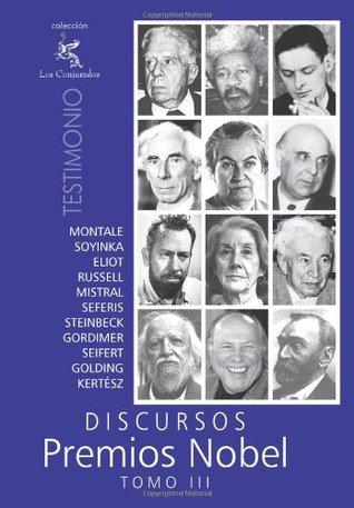Discursos Premios Nobel: Tomo III