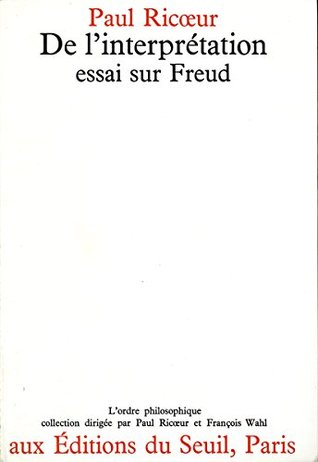 """freud and philosophy an essay in interpretation Sigmund freud's the interpretation of dreams essay  philosophy psychology freud essays] research papers 760 words (22 pages) dreams and their interpretation essay - """"dreams are the royal road to the unconscious"""" ― sigmund freud, the interpretation of dreams my."""