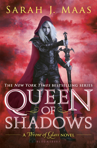 book cover: Queen of Shadows by Sarah J. Maas
