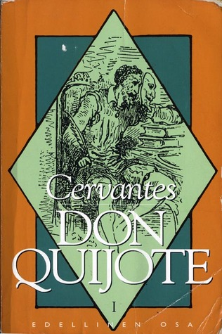 Mielevä hidalgo Don Quijote manchalainen: Edellinen osa