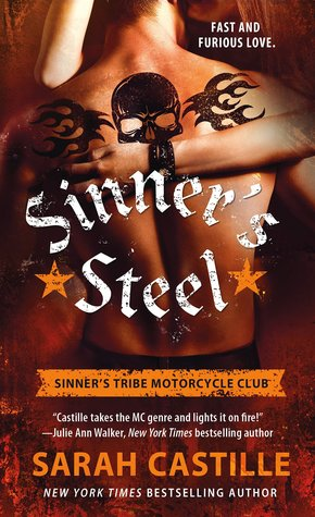 {Review} Sinner's Steel by Sarah Castille (with Giveaway)