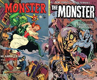 Monster. Issues 1 and 2. He gambled with Satan and lost. Out of the ancient ooze it crawled. The dark Abysmal. Golden Age Digital Comics Paranormal.