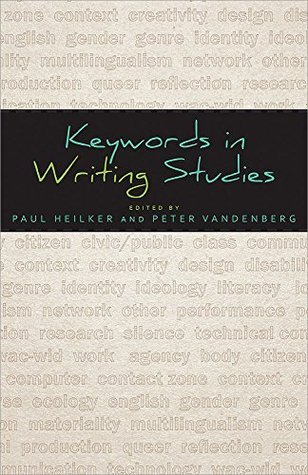 Keywords in Writing Studies