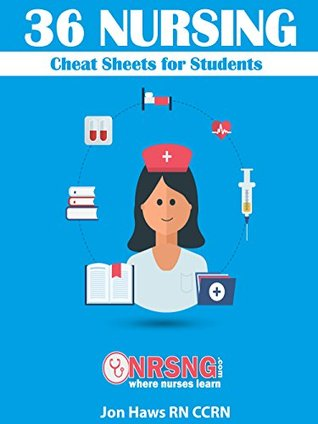 36 Nursing Cheat Sheets For Students Version 2 By Jon Haws