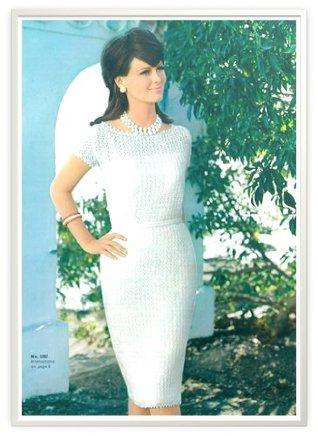 #0088 CATALINAN DRESS VINTAGE CROCHET PATTERN