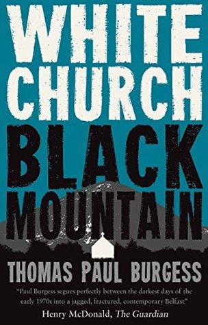 White Church, Black Mountain by Thomas Paul Burgess