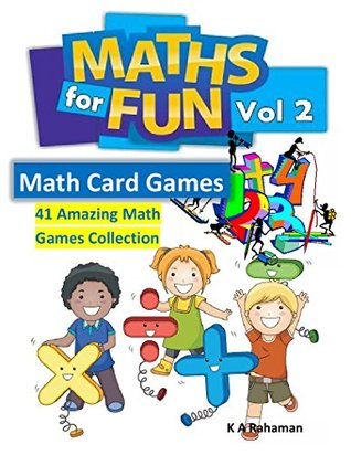 Math For Fun Vol 2: 41 Amazing Math Games Collection, Cool Math Games for Kids