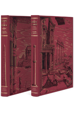 The Holy Land & Egypt and Nubia - Folio Society Limited Edition