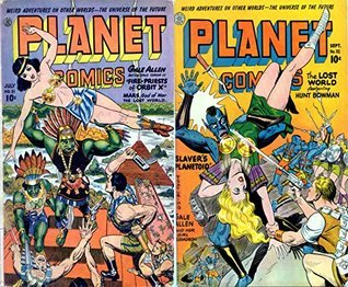Planet Comics. Issues 31 and 32. Weird adventures on other worlds. The universe of the future. Gale Allen battles space terror in Fire Priests of Orbit X. Mars God of War and the Lost World.